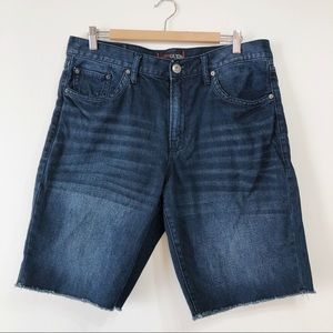 Men's Guess Blue Jean Shorts Size 34